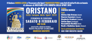 Oristano, città Europea dello sport